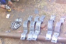 Support Plat & Clamps