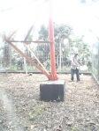 Lahan Pondasi Canopy ODC