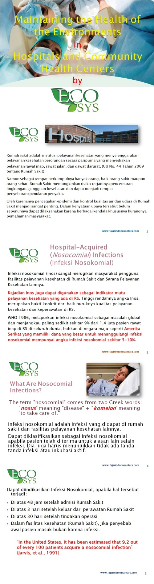 ECOSYS FOR HOSPITAL